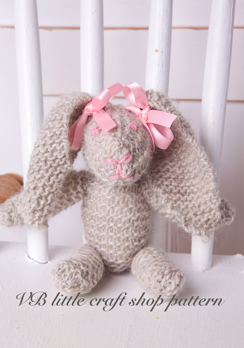 Free Soft Toy Pattern Rabbit 88
